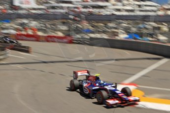 World © Octane Photographic Ltd. GP2 Monaco GP, Monte Carlo, Thursday 23rd May 2013. Practice and Qualifying. Jolyon Palmer - Carlin. Digital Ref : 0693cb7d1083
