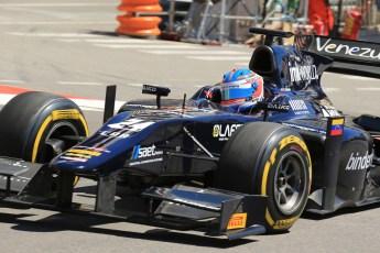 World © Octane Photographic Ltd. GP2 Monaco GP, Monte Carlo, Thursday 23rd May 2013. Practice and Qualifying. Rene Binder - Venezuela GP Lazarus. Digital Ref : 0693lw1d7360