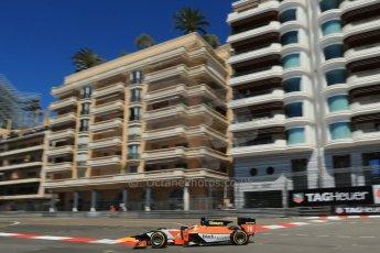World © Octane Photographic Ltd. GP2 Monaco GP, Monte Carlo, Thursday 23rd May 2013. Practice and Qualifying. Adrian Quaife-Hobbs -  MP Motorsport. Digital Ref : 0693lw1d7594
