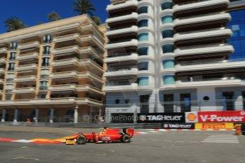 World © Octane Photographic Ltd. GP2 Monaco GP, Monte Carlo, Thursday 23rd May 2013. Practice and Qualifying. Julián Leal - Racing Engineering. Digital Ref: 0693lw1d7600