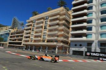 World © Octane Photographic Ltd. GP2 Monaco GP, Monte Carlo, Thursday 23rd May 2013. Practice and Qualifying. Adrian Quaife-Hobbs -  MP Motorsport. Digital Ref : 0693lw1d7625