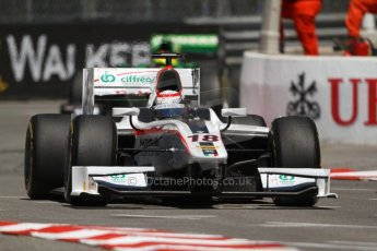 World © Octane Photographic Ltd. GP2 Monaco GP, Monte Carlo, Thursday 23rd May 2013. Practice and Qualifying. Stefano Coletti – Rapax. Digital Ref : 0693lw7d0639