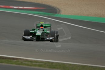 World © Octane Photographic Ltd. GP2 German GP, Nurburgring, Friday 5th July 2013. Practice. Alexander Rossi – EQ8 Caterham Racing..Digital Ref : 0740lw1d4054