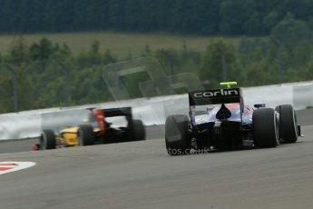 World © Octane Photographic Ltd. GP2 German GP, Nurburgring, 5th July 2013. Practice. Jolyon Palmer - Carlin. Digital Ref : 0740lw1d4177