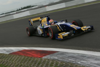 World © Octane Photographic Ltd. GP2 German GP, Nurburgring, Friday 5th July 2013. Qualifying. Felipe Nasr - Carlin. Digital Ref : 0742lw1d5271
