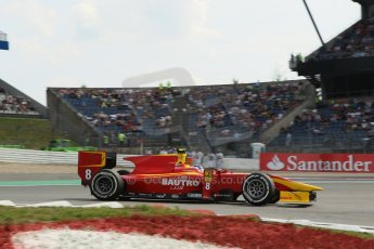 World © Octane Photographic Ltd. GP2 German GP, Nurburgring, 6th July 2013. Race 1.Fabio Leimer- Racing Engineering. Digital Ref: 0746lw1d4672