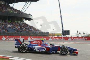 World © Octane Photographic Ltd. GP2 German GP, Nurburgring, 6th July 2013. Race 1. Jolyon Palmer - Carlin. Digital Ref : 0746lw1d4677