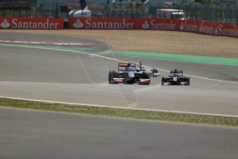 World © Octane Photographic Ltd. GP2 German GP, Nurburgring, 6th July 2013. Race 1 - Green Flag Lap. Jolyon Palmer - Carlin. Digital Ref : 0746lw1d7537