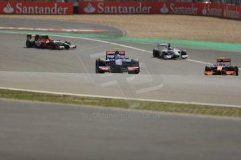 World © Octane Photographic Ltd. GP2 German GP, Nurburgring, 6th July 2013. Race 1. Jolyon Palmer - Carlin. Digital Ref : 0746lw1d7737
