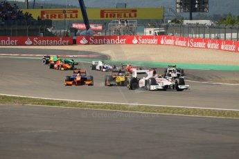 World © Octane Photographic Ltd. GP2 German GP, Nurburgring, Sunday 7th July 2013.  Race 2.  Stefano Coletti – Rapax. Digital Ref : 0747lw1d4723