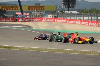 World © Octane Photographic Ltd. GP2 German GP, Nurburgring, Sunday 7th July 2013. Race 2. Julián Leal - Racing Engineering. Digital Ref: 0747lw1d4740