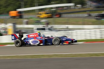 World © Octane Photographic Ltd. GP2 German GP, Nurburgring, Sunday 7th July 2013. Race 2. Jolyon Palmer - Carlin. Digital Ref : 0747lw1d4760