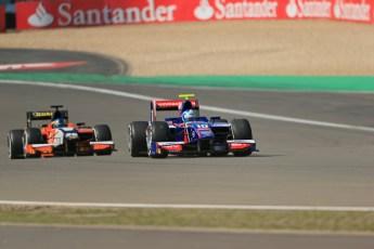 World © Octane Photographic Ltd. GP2 German GP, Nurburgring, Sunday 7th July 2013. Race 2. Jolyon Palmer - Carlin. Digital Ref : 0747lw1d8125