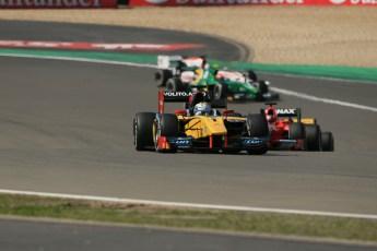 World © Octane Photographic Ltd. GP2 German GP, Nurburgring, Sunday 7th July 2013. Race 2. Marcus Ericsson - DAMS. Digital Ref : 0747lw1d8323