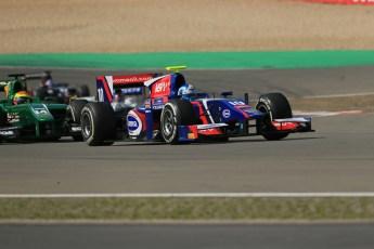 World © Octane Photographic Ltd. GP2 German GP, Nurburgring, Sunday 7th July 2013. Race 2. Jolyon Palmer - Carlin. Digital Ref : 0747lw1d8400