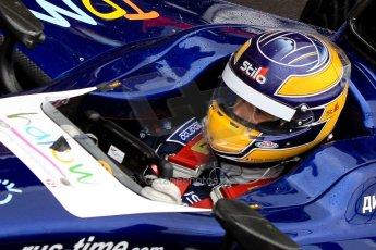 World © Octane Photographic Ltd. GP2 British GP, Silverstone, Friday 28th June 2013. Practice. Tom Dillmann – Russian TIME. Digital Ref : 0725ce1d6522