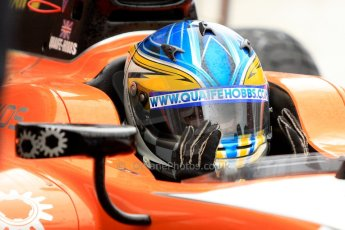 World © Octane Photographic Ltd. GP2 British GP, Silverstone, Friday 28th June 2013. Practice. Adrian Quaife-Hobbs -  MP Motorsport. Digital Ref : 0725ce1d6725