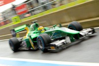 World © Octane Photographic Ltd. GP2 British GP, Silverstone, Friday 28th June 2013. Practice. Sergio Canamasas – EQ8 Caterham Racing. Digital Ref: 0725ce1d6791