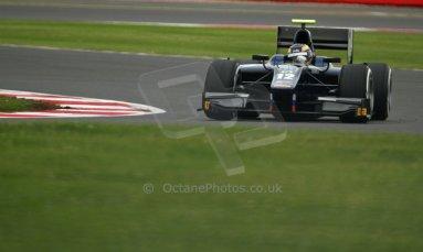 World © Octane Photographic Ltd. GP2 British GP, Silverstone, Friday 28th June 2013. Practice. Tom Dillmann – Russian TIME. Digital Ref : 0725cj7d0676