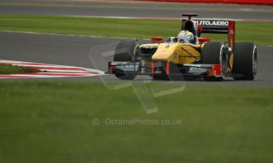 World © Octane Photographic Ltd. GP2 British GP, Silverstone, Friday 28th June 2013. Practice. Marcus Ericsson - DAMS. Digital Ref : 0725cj7d0683