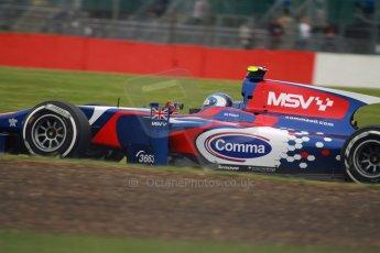 World © Octane Photographic Ltd. GP2 British GP, Silverstone, Friday 28th June 2013. Practice. Jolyon Palmer - Carlin. Digital Ref : 0725cj7d0726