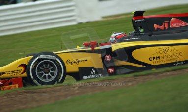 World © Octane Photographic Ltd. GP2 British GP, Silverstone, Friday 28th June 2013. Practice. Stephan Richelmi - DAMS. Digital Ref : 0725cj7d0801