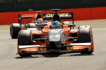 World © Octane Photographic Ltd./Chris Enion. GP2 British GP, Silverstone, Saturday 29th June 2013. Race 1. Adrian Quaife-Hobbs -  MP Motorsport. Digital Ref : 0731ce1d8301