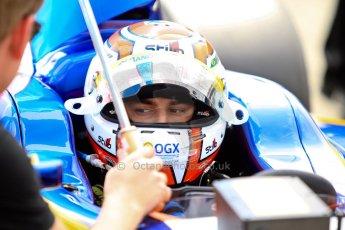 World © Octane Photographic Ltd./Chris Enion. GP2 British GP, Silverstone, Saturday 29th June 2013. Race 1. Felipe Nasr - Carlin. Digital Ref : 0731ce1d8384