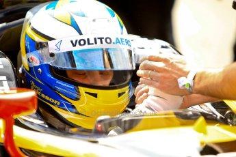 World © Octane Photographic Ltd./Chris Enion. GP2 British GP, Silverstone, Saturday 29th June 2013. Race 1. Marcus Ericsson - DAMS. Digital Ref : 0731ce1d8392