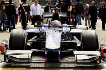 World © Octane Photographic Ltd./Chris Enion. GP2 British GP, Silverstone, Saturday 29th June 2013. Race 1. Sam Bird – Russian TIME. Digital Ref : 0731ce1d8405