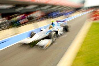 World © Octane Photographic Ltd. GP2 British GP, Silverstone, Friday 28th June 2013. Race 1. Rio Haryanto - Barwa Addax Team. Digital Ref : 0731ce1d8486