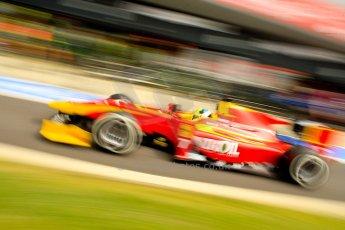 World © Octane Photographic Ltd./Chris Enion. GP2 British GP, Silverstone, Saturday 29th June 2013. Race 1. Julián Leal - Racing Engineering. Digital Ref : 0731ce1d8512