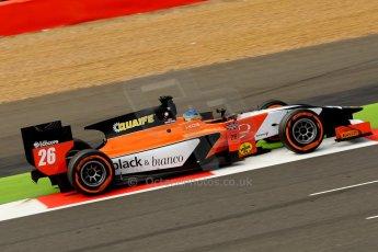 World © Octane Photographic Ltd./Chris Enion. GP2 British GP, Silverstone, Saturday 29th June 2013. Race 1. Adrian Quaife-Hobbs -  MP Motorsport. Digital Ref : 0731ce1d8727