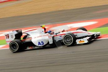 World © Octane Photographic Ltd./Chris Enion. GP2 British GP, Silverstone, Saturday 29th June 2013. Race 1. Simon Trummer – Rapax. Digital Ref : 0731ce1d8738