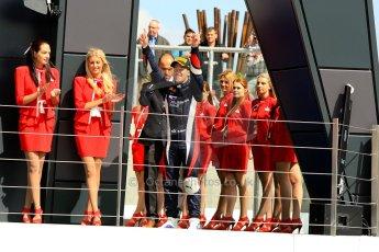 World © Octane Photographic Ltd./Chris Enion. GP2 British GP, Silverstone, Saturday 29th June 2013. Race 1. Sam Bird – Russian TIME. Digital Ref : 0731ce1d8778