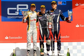 World © Octane Photographic Ltd./Chris Enion. GP2 British GP, Silverstone, Saturday 29th June 2013. Race 1. Sam Bird – Russian TIME. Digital Ref : 0731ce1d8823