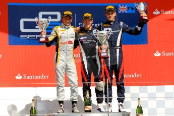 World © Octane Photographic Ltd./Chris Enion. GP2 British GP, Silverstone, Saturday 29th June 2013. Race 1. Sam Bird – Russian TIME. Digital Ref : 0731ce1d8833