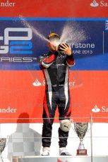 World © Octane Photographic Ltd./Chris Enion. GP2 British GP, Silverstone, Saturday 29th June 2013. Race 1. Sam Bird – Russian TIME. Digital Ref : 0731ce1d8862