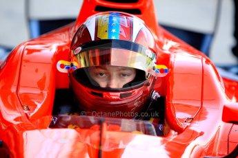 World © Octane Photographic Ltd./Chris Enion. GP2 British GP, Silverstone, Sunday 30th June 2013. Race 2 Johnny Cecotto – Arden International. Digital Ref : 0732ce1d9323