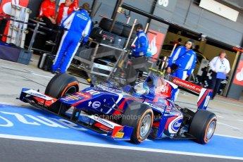 World © Octane Photographic Ltd./Chris Enion. GP2 British GP, Silverstone, Sunday 30th June 2013. Race 2. Jolyon Palmer - Carlin. Digital Ref : 0732ce1d9352