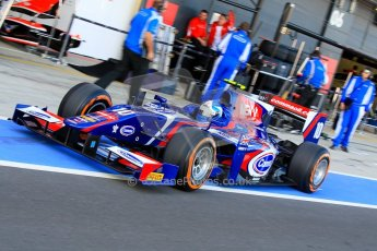 World © Octane Photographic Ltd./Chris Enion. GP2 British GP, Silverstone, Sunday 30th June 2013. Race 2. Jolyon Palmer - Carlin. Digital Ref : 0732ce1d9355