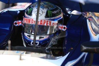 World © Octane Photographic Ltd./Chris Enion. GP2 British GP, Silverstone, Sunday 30th June 2013. Race 2 Sam Bird – Russian TIME. Digital Ref : 0732ce1d9393