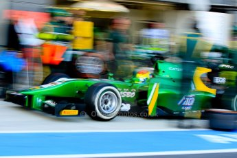 World © Octane Photographic Ltd./Chris Enion. GP2 British GP, Silverstone, Sunday 30th June 2013. Race 2 Sergio Canamasas – EQ8 Caterham Racing. Digital Ref : 0732ce1d9442