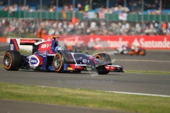 World © Octane Photographic Ltd. GP2 British GP, Silverstone, Sunday 30th June 2013. Race 2. Jolyon Palmer - Carlin. Digital Ref : 0732lw1d1721