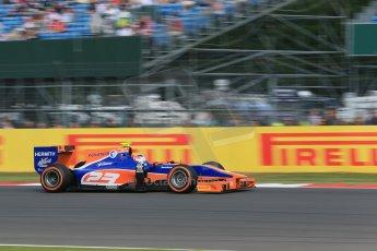 World © Octane Photographic Ltd. GP2 British GP, Silverstone, Sunday 30th June 2013. Race 2 race winner Jon Lancaster - Hilmer Motorsport. Digital Ref :