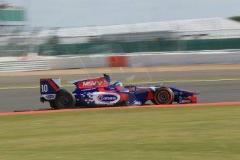 World © Octane Photographic Ltd. GP2 British GP, Silverstone, Sunday 30th June 2013. Race 2. Jolyon Palmer - Carlin. Digital Ref : 0732lw1d2153