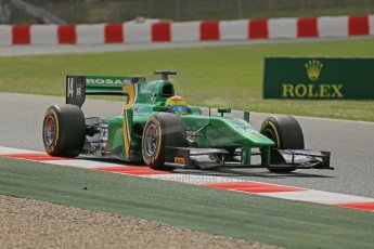 World © Octane Photographic Ltd. GP2 Spanish GP, Circuit de Catalunya, Saturday 11th May 2013. Qualifying. Sergio Canamasas– Caterham. Digital Ref : 0662cb1d9910