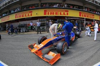 World © Octane Photographic Ltd. GP2 Spanish GP, Circuit de Catalunya, Saturday 11th May 2013. Race 1. Jon Lancaster - Hilmer Motorsport. Digital Ref : 0666cb1d1541