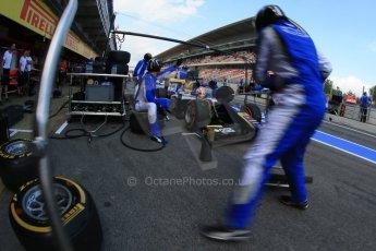 World © Octane Photographic Ltd. GP2 Spanish GP, Circuit de Catalunya, Saturday 11th May 2013. Race 1. Felipe Nasr - Carlin. Digital Ref : 0666cb1d1598