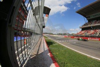 World © Octane Photographic Ltd. GP2 Spanish GP, Circuit de Catalunya, Saturday 11th May 2013. Race 1. Alexander Rossi – Caterham. Digital Ref : 0666cb1d1626